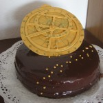 A working astrolabe cake
